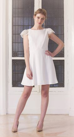 Une robe en dentelle de créatrice à petit prix Harpe, 350€