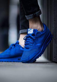 Nike Air Max 1 Premium Game Royal #sneakers #sneakernews #StreetStyle #Kicks #adidas #nike #vans #newbalance #puma #ADIDAS #ASICS #CONVERSE #DIADORA #REEBOK #SAUCONY Nike Air Max, Air Max 90, Air Max 1 Premium, Reebok, Converse, Adidas, Sneaker Brands, Sneaker Heels, Hypebeast