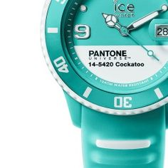 Pantone Universe Watch from Ice Watch in Cockatoo color - pantone.com
