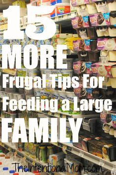 Here are the things that people can't get enough of this week. There's a little bit of everything for everyone here. There's stuff on feeding a family on a budget, raising tidy kids, making house rules, and MORE!