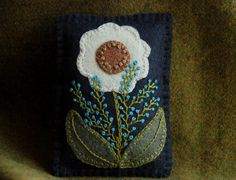Christmas balsam sachet ornament primitive by HorseAndBuggyCountry Penny Rug Patterns, Wool Applique Patterns, Felt Patterns, Felt Applique, Embroidery Patterns, Felted Wool Crafts, Felt Crafts, Wooly Bully, Wool Quilts