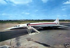 TWA Trans World Airlines CONCORDE - mock-up 6x4 print + 1 x FREE print