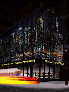 Armani/5th Avenue, 717 Fifth Avenue, New York City.