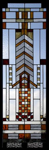 Frank Lloyd Wrigth Stained Glass Panels