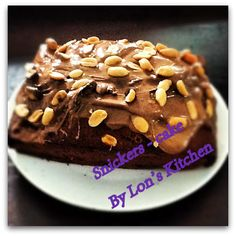 Snickers-cake