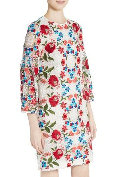 Cutwork, Embroidered Lace, Nordstrom Dresses, Carry On, Burberry, Floral Tops, Lace Dress, Tunic Tops, Color