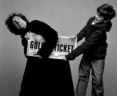Tim Burton and The Golden Ticket