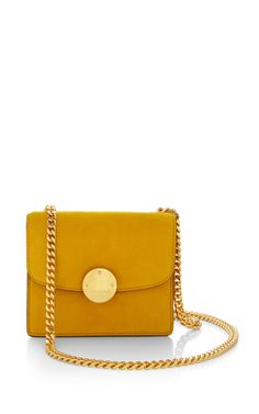 Mini Suede Trouble Bag In Sunflower by Marc Jacobs - Resort 2015 (=)