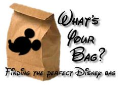A discussion on what is the perfect bag to carry at Disney...there is also quite an extensive discussion on the DISboards.com