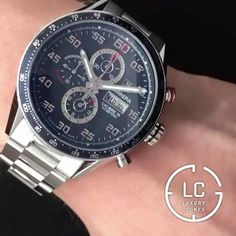 Tag Heuer Carerra – Men's Watches from Top Brands Men's Watches, Fossil Watches, Luxury Watches, Cool Watches, Dream Watches, Tag Heuer Monaco, Tag Heuer Carrera Calibre, Expensive Watches, Best Watches For Men