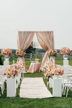 Prepare to hold your breath when viewing this stunning Ontario wedding! The floral displays are simply amazing for this couple's celebration, with attention-grabbing cherry blossom centerpieces in a r