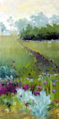 'Off the path at harbor shores' Leslie Dyas