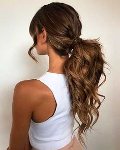Winter Hairstyles, Easy Hairstyles For Long Hair, Fancy Hairstyles, Black Girls Hairstyles, Wedding Ponytail Hairstyles, Bride Hairstyles, Bridesmaid Hairstyles, Homecoming Hairstyles, Ponytail For Wedding