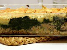 Hachis parmentier aux épinards - Marmiton (recette en français)