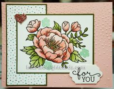 Heart's Delight Cards: More Sneak Peeks! Birthday Blooms, 2016 Occasions Catalog