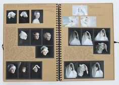 A2 Fine Art, A3 Brown Sketchbook, Photoshoot, CSWK Theme 'Flaws, Perfections, Ideals and Compromises', Thomas Rotherham College, 2015-16