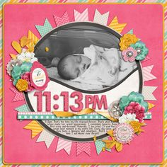8 Scrapbook Layouts For Your Baby/Newborn Are you needing to get started on some memory keeping of your child in the baby/newborn stages, but need a little inspiration of where to begin? These 8 baby scrapbook layout ideas are great for… Scrapbook Bebe, Baby Girl Scrapbook, Baby Scrapbook Pages, Scrapbook Sketches, Scrapbook Page Layouts, Scrapbook Paper Crafts, Scrapbook Cards, School Scrapbook, Wedding Scrapbook