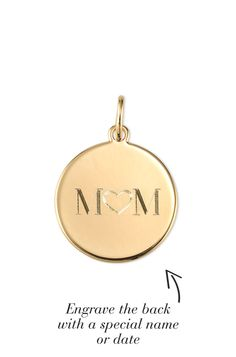 Perfect present for mom this MOTHER'S DAY! Engrave the back with a special name or date! Engraving included in the price! #MothersDay #MothersDayGifts