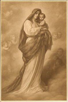 Our Lady and the child Jesus. What the New Age denies … http://corjesusacratissimum.org/2009/10/denial-of-the-fall/