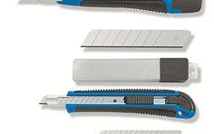 Color Expert 95635050 Lot Promo Complet de 2 Cutters bi-matière/Lames Assorties: Manche ergonomique Fourni avec lames Cet article Color…