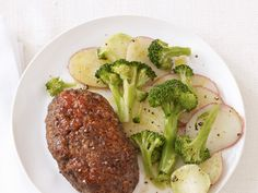 Dinner tonight: Sweet-and-Spicy Meatloaves from #FNMag