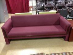 Used Chairs, Sofa, Couch, Burgundy, Furniture, Home Decor, Settee, Settee, Decoration Home