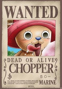 One Piece Wanted Chopper