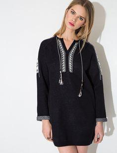 Knit Tassel Dress $119.00