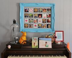 DIY Instragram display frame which is super easy to switch out and rearrange!