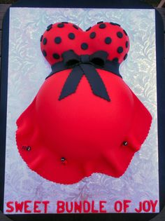 Ladybug Belly Baby Shower Cupcakes, Baby Shower Favors, Shower Cakes, Baby Shower Parties, Baby Shower Themes, Baby Shower Decorations, Shower Ideas, Baby Showers, Baby Ladybug