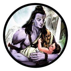 Shiva Parvati Images, Shiva Shakti, Shiva Art, Hindu Art, Lord Hanuman Wallpapers, Om Namah Shivay, Lord Shiva Painting, Lord Murugan, Lord Mahadev
