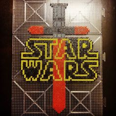Star Wars: The Force Awakens perler beads by pervusmantooth