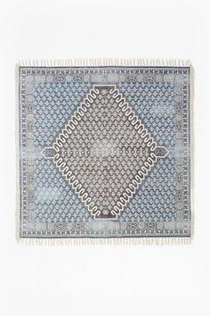 large poppy field rug