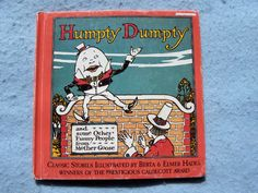Humpty Dumpty and Other Mother Goose Rhymes by Berta & Elmer Hader