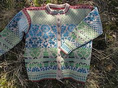 Ravelry: Old World Garden Cardigan pattern by Cynthia Atley Peterson