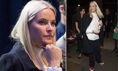 Mette-Marit de Noruega 'entra' a todas partes con zapatillas
