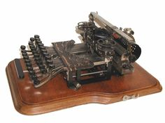 The Keystone Antique Typewriter 1898