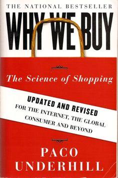Why we buy by Paco Underhill - Ayo kenapa kita beli sesuatu? apa alasannya ?