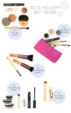 Holiday 2013 Gift Guide by Alima Pure #giftideas #holiday2013 #makeupkits