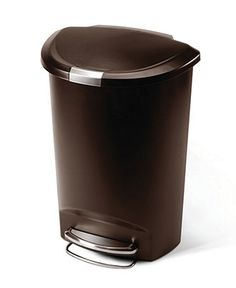 Simplehuman Trash Can 50l Plastic Step Cans Cleaning Organizing