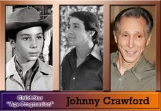 Johnny Crawford - The Rifleman...i don't care how old he is, he's still one of my faves....this is the part where my sister calls me a necrophiliac