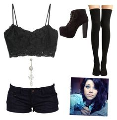 """My party outfit tonight"" by xxmia-hood-xx ❤ liked on Polyvore featuring Charlotte Russe and MANGO"