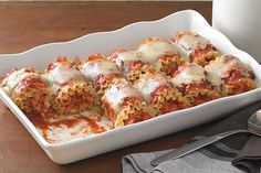 If you've never made roll-ups, here's a quick how-to video. Get out the chicken and cheese, and prepare to amaze with this new twist on delicious lasagna.