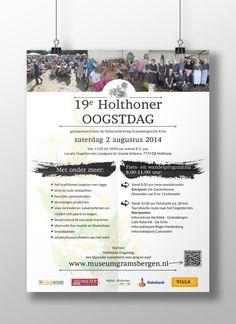Poster Holthoner Oogstdag 2014