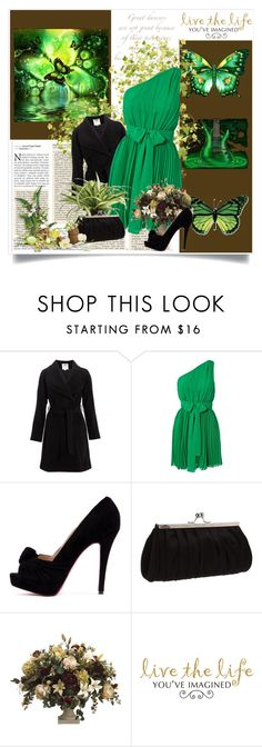 """""""SO GREEN...!!!"""" by ovidmarie-melendez-rodriguez ❤ liked on Polyvore featuring Monsoon, Dry Lake and La Regale"""