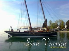 #ConciergeRecommends Navigate in the beautiful setting of #LakeGarda with a sailing ship from 1926. A unique experience, the excitement of a cruise once, lulled by the silence and the water ... Siora Veronica is an old sailing ship which can be rented.