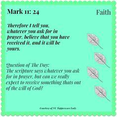 Mark 11:24 #faith