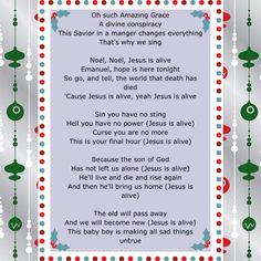"December 12 of Jesus Birthday Celebration! Some of the lyrics of ""Jesus Is Alive"" by Josh Wilson"