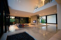 Modern Residence Wih Floor To Ceiling Glass By Guido ConstantinoGuido  Constantino Designed This Modern Residence With