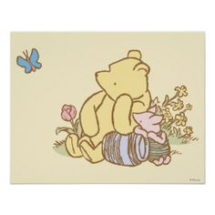 Would love to have this in his vintage Winnie the Pooh nursery!